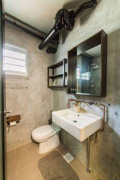 voila concept minimalistic master bathroom