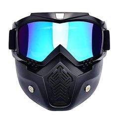 Face Mask Helmet Fitness Extreme Sport Training Face Protection CLEAN GOGGLE NEW