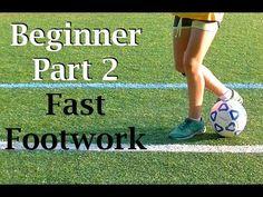 Fast Feet Beginner Soccer Drills (Part 2) - YouTube
