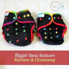 """Bigger"" Best Bottom Diaper Review & Giveaway | Zephyr Hill"