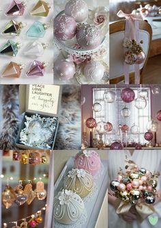#Bauble #Christmas #Wedding Decor Mood Board from The Wedding Community