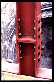 Resultado de imagen para architectural steel bolt connection