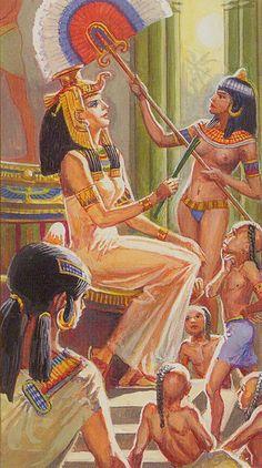 III - L'impératrice - Ramsès : Tarot de l'éternité par Severino Baraldi