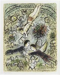 Un cielo - (Marc Chagall)