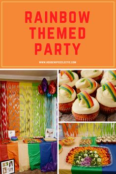 Housewife Eclectic: Rainbow Themed Party