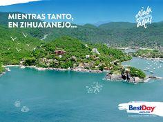 ¿Esperas que llegue el viernes para escapar de todo? #Ixtapa #OjalaEstuvierasAqui #BestDay #Zihuatanejo