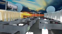 Guests will be able to dine and watch movies on the Rooftop Terrace, a space that will be added to two Millennium-class ships: the Infinity and the Summit.