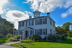 Built in 1830 this totally renovated captain's home combines old world charm with the luxury of modern amenities including central air conditioning and wifi. Cape Cod Rentals, Real Estate Rentals, 100 Yards, Half Baths, Old World Charm, Conditioning, Landing, Balcony, Wifi