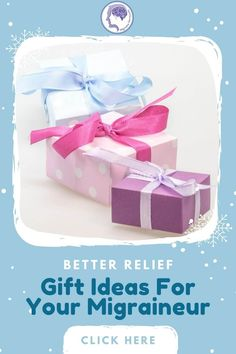Choose from over 21 migraine gift basket ideas from a seasoned pro. After 26 years of migraine, let me help you choose the most effective gifts @migrainesavvy #migraines #headaches #christmasgifts Migraine Diary, Migraine Hangover, Chronic Migraines, Chronic Illness, Migraine Pressure Points, Migraine Piercing, Migraine Relief, Physical Pain, Thyroid Problems