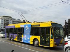 ○ VanHool Trolleybus in Athen Busses, Athens Greece, Volkswagen, Transportation, Tourism, Greek, Public, City, Roads