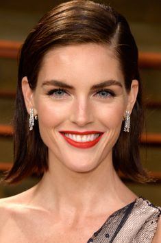 Best Beauty Looks From The Oscars 2014 After Parties // Hilary Rhoda