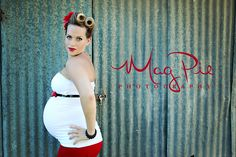 Maternity Pin Up  Copyright Mag Pie Photography  https://www.facebook.com/Magpiephotography1