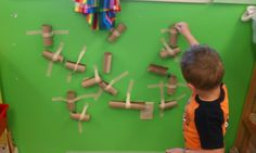 Play-Based Classroom: Toilet Paper Tube Marble Run