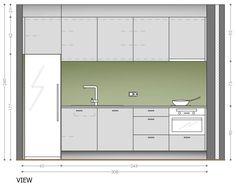 best one wall kitchen designs httpwwwkitchenstircom - One Wall Kitchen Designs