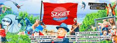 100 Days of Summer! – Hear the Fans Roar at Budapest's Sziget Festival Non Stop, 100th Day, Beautiful Islands, Rock And Roll, The 100, Beach, Summer, Fans, Times