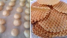 Křupavé sušenky z formy na waffle | NejRecept.cz Something Sweet, Crinkles, Christmas Cookies, Sweet Recipes, Sugar Free, Biscuits, Bread, Candy, Baking
