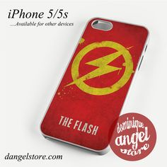 The Flash Logo Phone case for iPhone 4/4s/5/5c/5s/6/6 plus