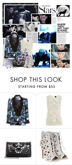 """""""EXO - Wolf"""" by nettanetto ❤ liked on Polyvore featuring Karl Lagerfeld, A