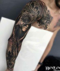Fabulous Full Sleeve Tattoos For Men