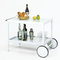 "Richard Schultz 1966 Serving Cart | Knoll | Modern Furniture ... 39""w, 23d, 26h  $2,851"