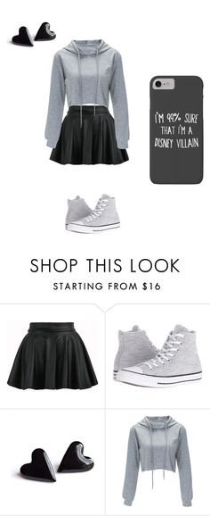 """""""rainy days"""" by mermaid7sienna on Polyvore featuring Converse and Disney"""