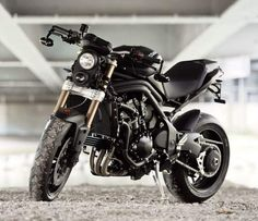 """Triumph Speed Triple """"Stealth"""" by Triumph Munich-Motorcycle Specifications"""