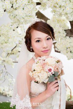 蘿亞手工婚紗Royal handmade wedding dress 婚禮造型 新娘祕書 Aly