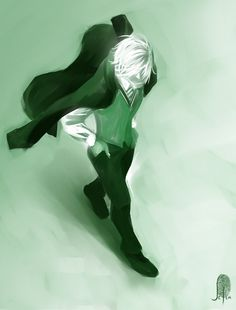 Dramatic and hip Draco Malfoy Harry Potter Art