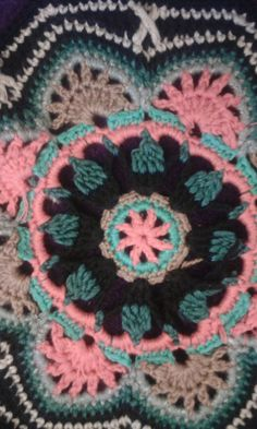 Persky motiv- detail Crochet Blanket Patterns