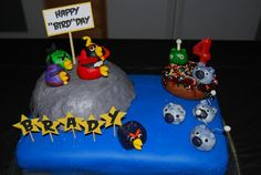 Crafty Teacher Mom: Angry Birds Space Birthday Party!