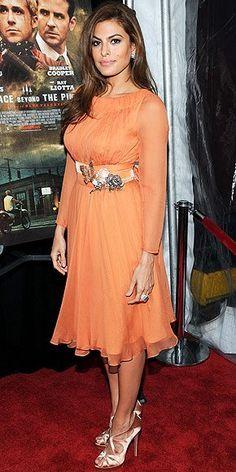 Eva Mendes in Prada