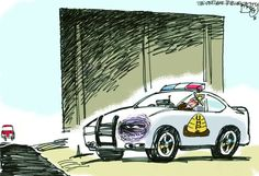 """""""UHP Black Eye""""  This Pat Bagley editorial cartoon  appeared in The Salt Lake Tribune on Sunday, Jan. 6, 2012."""