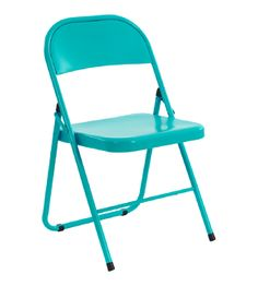 I'm not as much of a fan of these folding chairs except the color would go great in my apartment! Found via Real Simple. $29