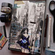 close-up details. #maskingtape #washitape #washi #personal #moleskine #diary #journal #mayannlicudine