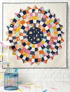 Cuckoo Calling quilt by Lynne Goldsworthy for Issue 20 of Love Patchwork & Quilting magazine