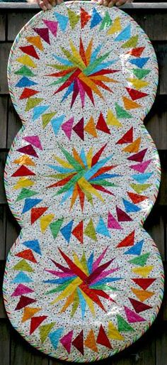 Seasonal Table Runner, Quiltworx.com, Made by Patsy Carpenter.