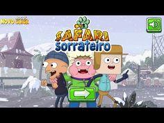 Jogo do Clarence Safari Sorrateiro - Jogos do Clarencio o otimista