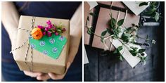 Creative gift wrap ideas for holiday gifts don't have to require a fine arts degree or hot glue gun. Here, a ton of unique options, however crafty you are.
