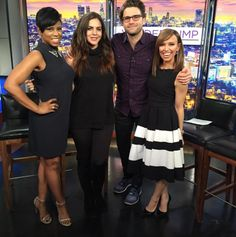 Guess who put a ring on it?! We talked to #PumpRules' newly engaged couple: #KatieMaloney and #TomSchwartz! Check out the full interview on newyorklivetv.com