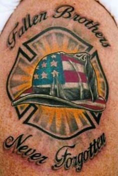 tribute to sept 11 tattoos | Firefighter 9 11 Tattoo By Concetta - kootation.com
