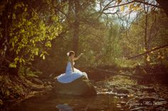 Fairy Tales in the Autumn Wood?  Stunning Trash the Dress session.