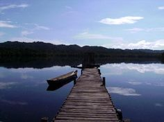 Livingston, Guatemala: View from the dock
