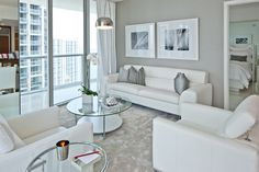 living room white out