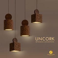 26 Best Cork Lighting Images