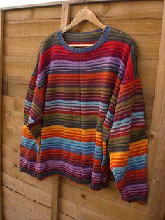 Ravelry: Arizona Stripe pattern by Kaffe Fassett