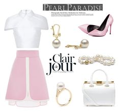 """Clair de jour by Pearl Paradise"" by pearlparadise ❤ liked on Polyvore"