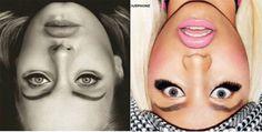 Optický klam: Fotky celebrit vzhůru nohama - Evropa 2
