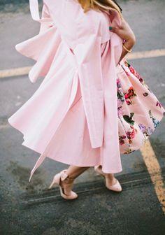 Pastels and petal prints