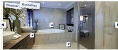 Manhattan Styled Bathroom by Porter Davis Home Building Design. Love the neutral colours