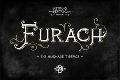 Furach Typeface + Bonus (intro sale) by Heybing Supply Co. on Creative Market